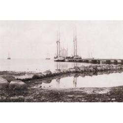 """Postcard """"Vaade Kärdla sadamale"""""""