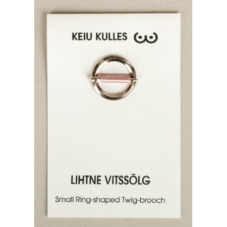 Small Ring-shaped Twig-brooch
