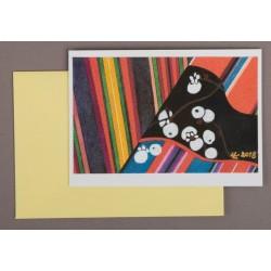 Käsitöökaart (akvarell)